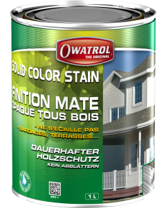 SOLID COLOR STAIN MAT