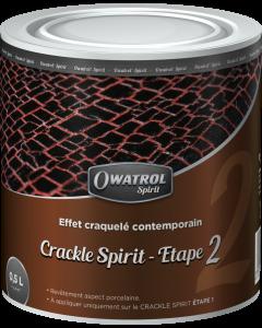 CRACKLE SPIRIT ETAPE 2