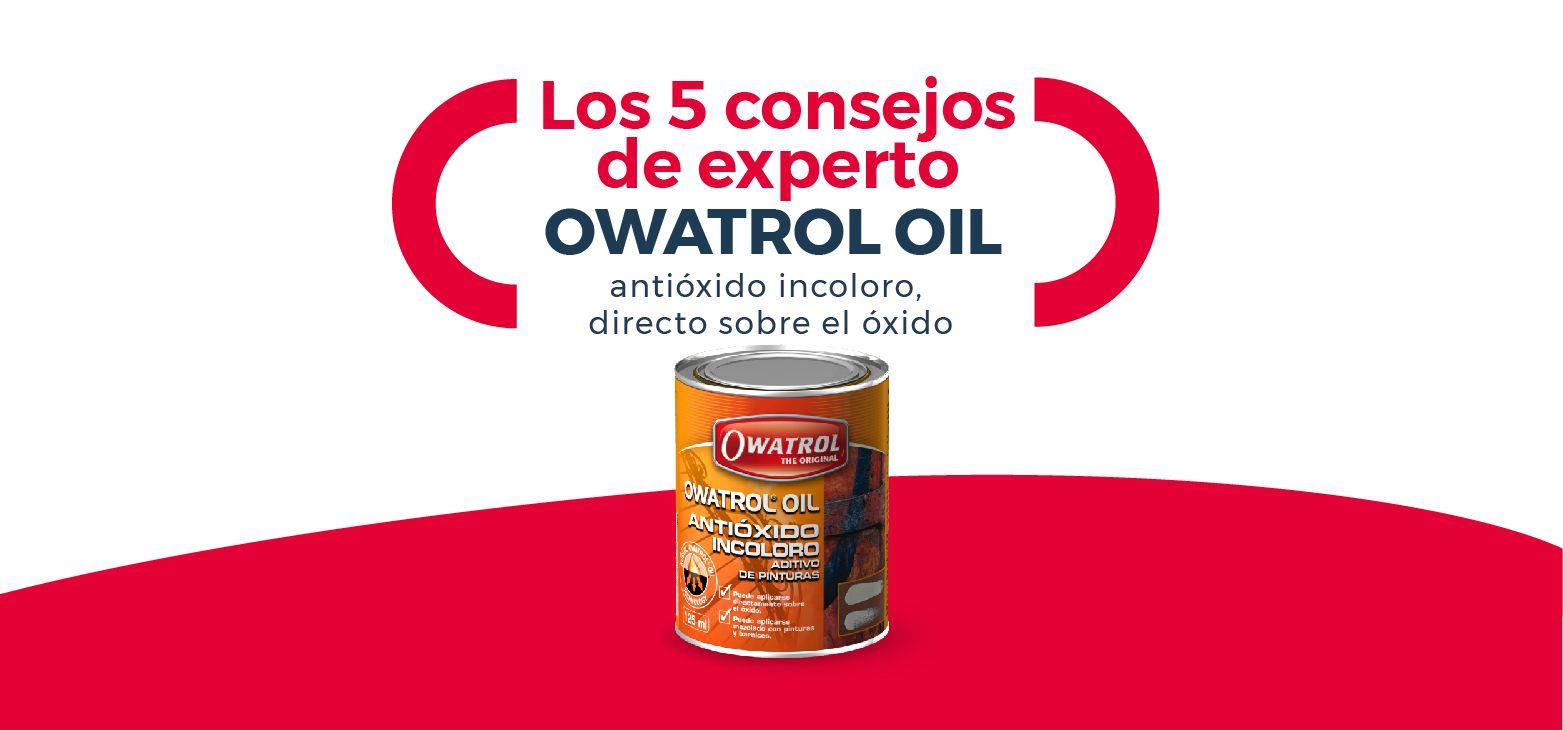Los 5 consejos de experto OWATROL OIL