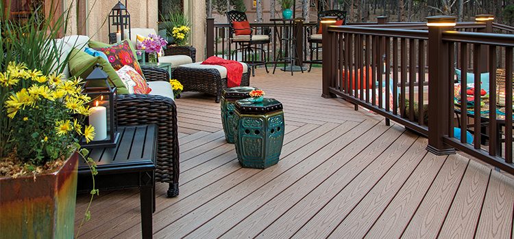 Une belle terrasse composite !